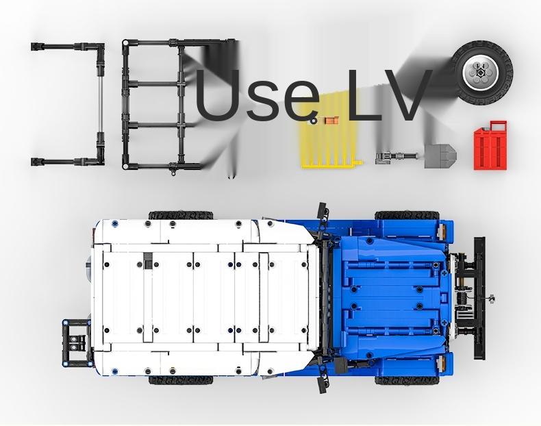 XINYU QC012 Toyota FJ40 off-road vehicle Building Bricks Toy Set