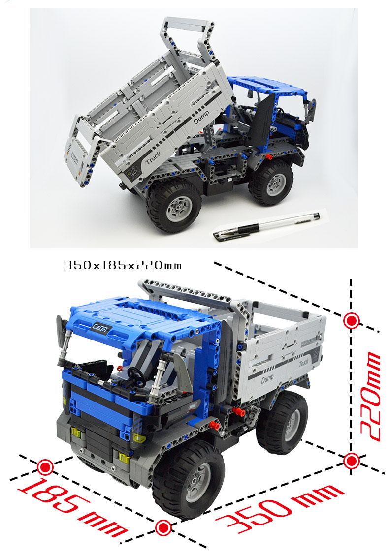 Double Eagle CaDA C51017 Building Blocks Set