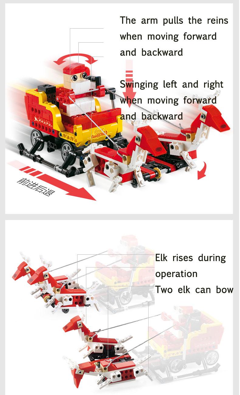 Double Eagle CaDA C51034 Building Blocks Set