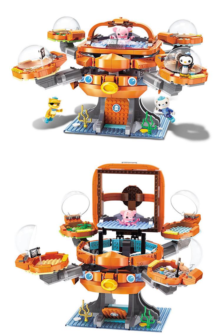 ENLIGHTEN 3708 Octopod Building Blocks Set