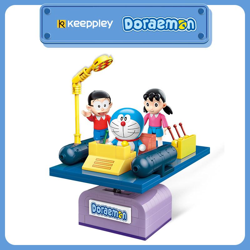 QMAN Keepplay Doraemon A0110 Classic Building Blocks Toy Set