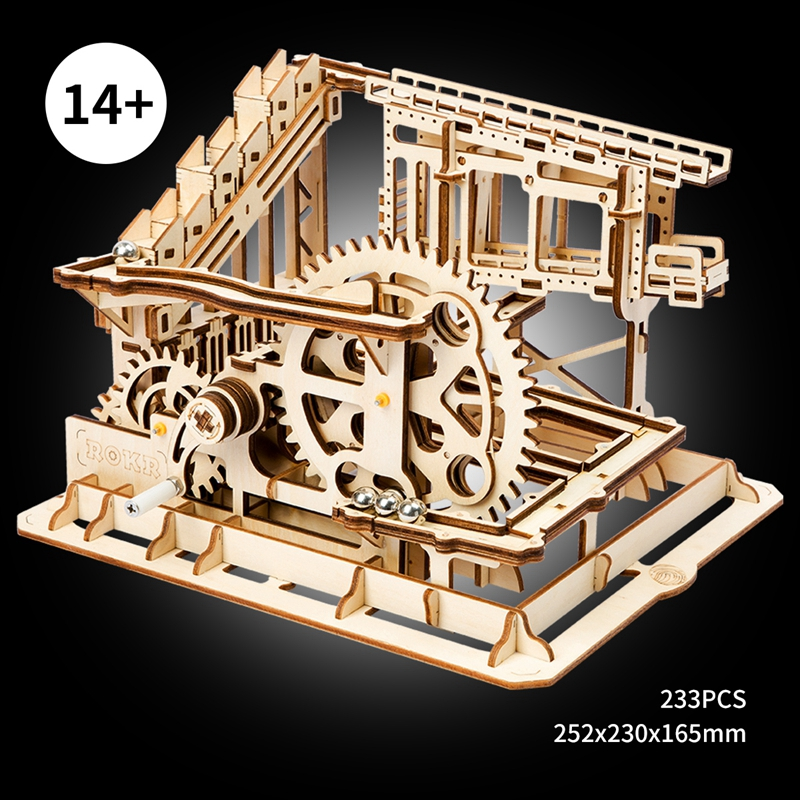 ROKR 3D Puzzle Run Game Wooden Building Toy Kit