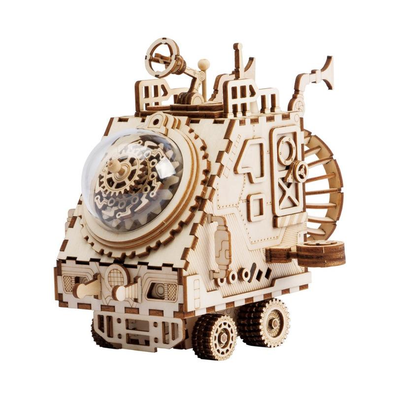 ROKR 3D Puzzle Space Vehicle Wooden Building Toy Kit